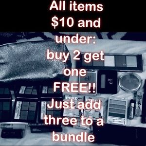 Other - Buy 2 get 1 free! All items $10 or less